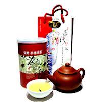龍源茶品 無毒無焙火杉林溪烏龍茶葉1罐組(150g/罐)