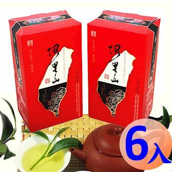 【龍源茶品】阿里山茗香雀鳴-輕焙火烏龍茶葉6盒組(150g/盒)-冬茶鮮摘