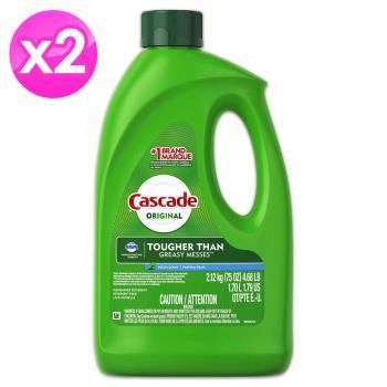 Cascade洗碗機專用洗碗精(75oz/2.12kg) 2入組