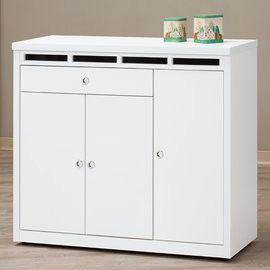 【時尚屋】[UZ6]裕隆貝多美4尺白色鞋櫃UZ6-414-6
