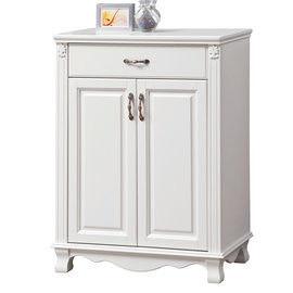 【時尚屋】[UZ6]凡尼斯2.7尺烤白鞋櫃UZ6-411-1