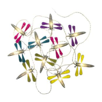 【OutdoorBase】蜻蜓裝飾串燈 戶外裝飾燈串 露營燈-21898