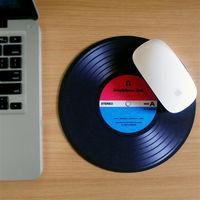 【HeadphoneDog】DJ唱片刷碟滑鼠墊(帥藍紅)-行動