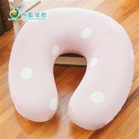 【格藍傢飾】水玉涼感舒壓護頸枕(小)-草莓粉