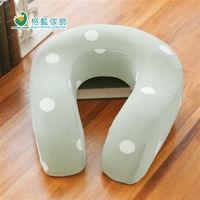 【格藍傢飾】水玉涼感舒壓護頸枕(大)-抹茶綠