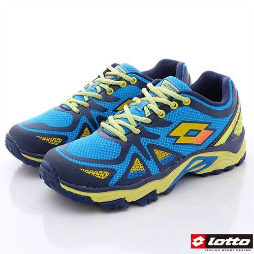 Lotto樂得-輕量越野跑鞋款-MR3236男款-藍