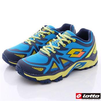 Lotto樂得-輕量越野跑鞋款-MR3236藍(男段)-(25.5cm~29cm)-行動