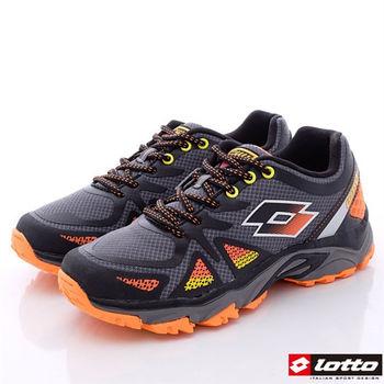 Lotto樂得-輕量越野跑鞋款-MR3238灰(男段)-(25.5cm~28cm)-行動