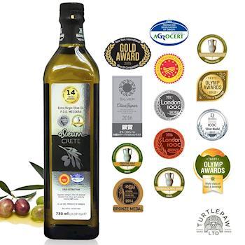 【Oleum Crete】奧莉恩頂級初榨橄欖油1瓶(750ml)