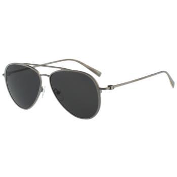 Salvatore Ferragamo- 時尚太陽眼鏡(銀色)