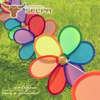 【韓國SELPA】繽紛飾品-花朵串旗/掛旗(8P)