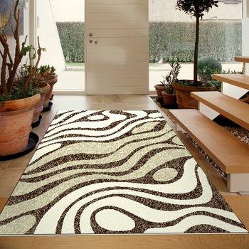 范登伯格 悅舞視覺影像絲質地毯-雲浪-160x230cm