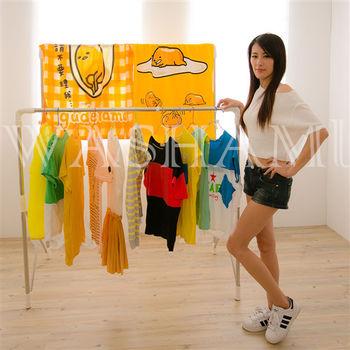 WASHAMl-日式賢妻小幫手折疊伸縮晾曬衣架6613
