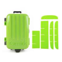 【iGimmick】魔術分裝收納盒 綠色行李箱-行動