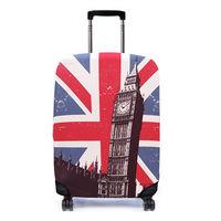 【Bibelib】行李箱套- 英國大笨鐘-行動