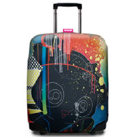 【SUITSUIT】行李箱套 MetsoMaru設計師款 魔幻 BooBoo-行動