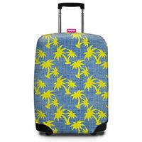 【SUITSUIT】行李箱套 - 熱帶椰林 Tropical Denim-行動