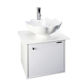 【HCG】浴櫃系列-LC101臉盆浴櫃(含龍頭) LF567B龍頭