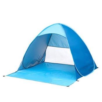 全自動帳篷 免搭建 露營 沙灘 遮陽 戶外 垂釣 防紫外線