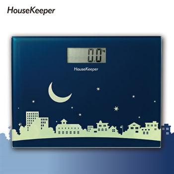 【妙管家】月光小鎮電子體重計 HKES-0220-行動