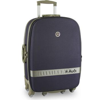 【Audi 奧迪】29吋新蜂巢格8輪360度~Audi行李箱旅行箱M-71529-深紫