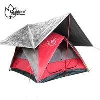 【OutdoorBase】萬用抗UV冰涼墊-21652.多層防曬隔熱 帳篷隔熱 車頂隔熱 地墊 (抗UV/IR)墊.內附收納袋-行動