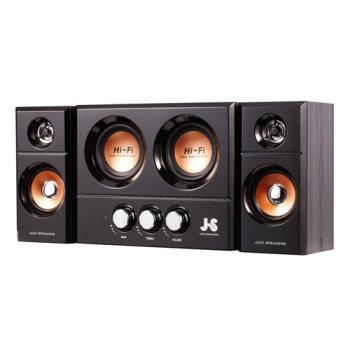 JS 淇譽電子 JY3250 雙重低音全木質多媒體喇叭