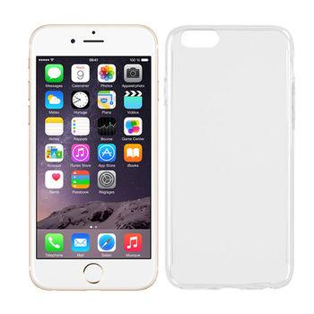 極簡派 Apple iPhone 6/6S Plus 透明保護殼 贈送螢幕保護貼