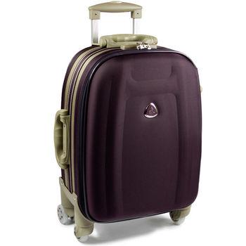 【Audi 奧迪】18吋~時尚系列TSA~Audi行李箱/旅行箱M-71718-紫