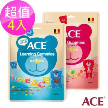 ACE 水果Q軟糖+字母Q軟糖 任選4入(240g/入)