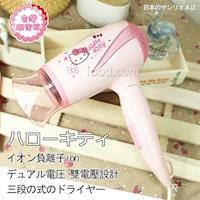 Hello Kitty 三段式負離子吹風機 OT-628 (國際電壓)