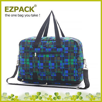 【EZPACK】輕巧收合旅行袋 EZ81113 蘇格蘭綠