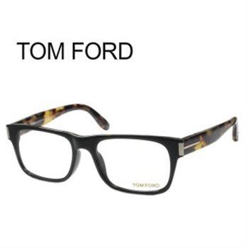 【TOM FORD光學眼鏡】時尚質感光學眼鏡-金屬邊#琥珀框(TF4274-001)