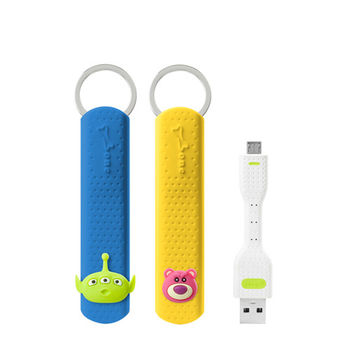 Bone / LinKey Micro USB 充電傳輸鑰匙圈【玩具總動員】-行動
