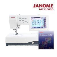 JANOME MC11000 電腦型刺繡縫紉機 送刺繡軟體MBX