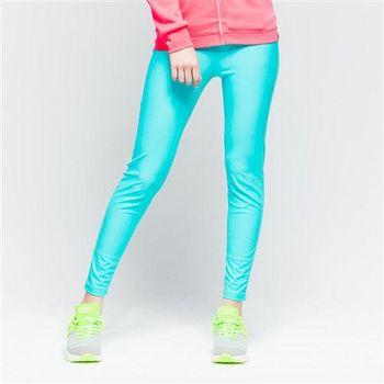 【美國 AIRWALK】經典運動緊身長褲-女 -淺綠