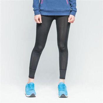 【美國 AIRWALK】經典運動緊身長褲-女 -黑