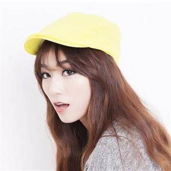 【米蘭精品】鴨舌帽貝雷帽戶外遮陽時尚造型休閒女帽子71k105