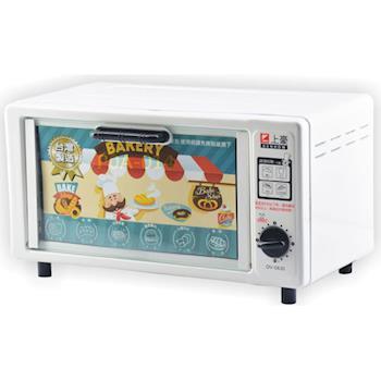 上豪8公升單旋鈕電烤箱 OV-0830