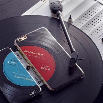 【HeadphoneDog】立體黑膠唱片紋路 手機殼/保護殼-行動
