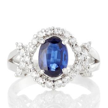 Dolly  永恆浪漫藍晶石戒指