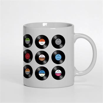 【HeadphoneDog】黑膠唱片馬克杯/筆筒/咖啡杯