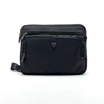 【Swissdigital】率性極簡商務手提包-黑