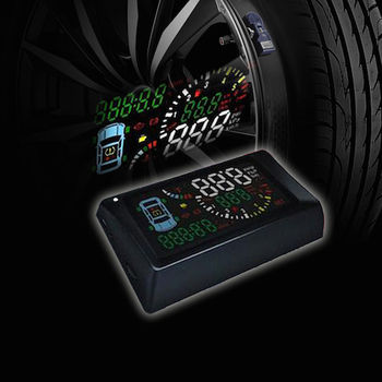安全駕馭首選-TSA S500-T Smart OBD2 HUD 胎壓型抬頭顯示器