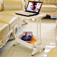 LIFECODE《悠活》二層可移動茶水桌/筆電桌/餐車 -行動