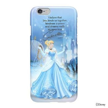 iJacket 迪士尼 iPhone 6/6s 4.7吋 手機殼+化妝鏡 電影系列 豪華套裝組 - 灰姑娘
