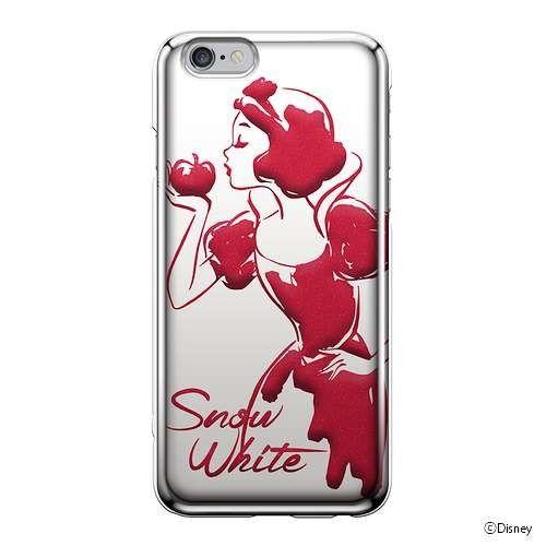 iJacket 迪士尼 iPhone 6/6s 4.7吋 手機殼+化妝鏡 豪華套裝組 - 白雪公主