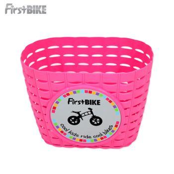 FirstBike  兒童滑步車/學步車 原廠車前小籃子(粉)