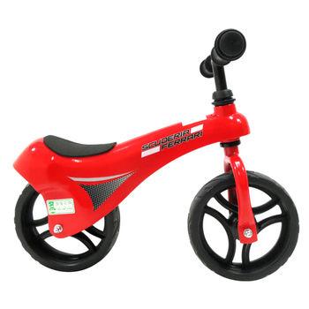 【FERRARI 法拉利】鋁製兒童滑步車-紅