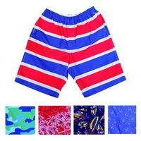 【MURANO】MIT多色系鬆緊帶印花沙灘褲 (男) 限定5件組合出貨 -型(網)